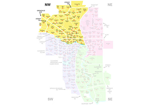 NW Communities in Calgary